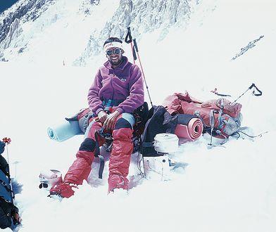 Debiut w górach najwyższych. W obozie czwartym pod Gasherbrum II, 1990.