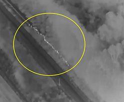Granica Polski i Białorusi. Do sieci trafiło nagranie z drona