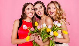 Dzień kobiet 8 marca - jakie kwiaty podarować paniom z okazji ich święta? Oferta sieci Biedronka, Lidl, Tesco oraz Carrefour.
