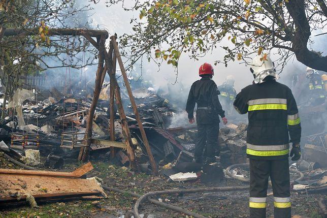 Janówka pod Łodzią. W pożarze zginęły dwie osoby