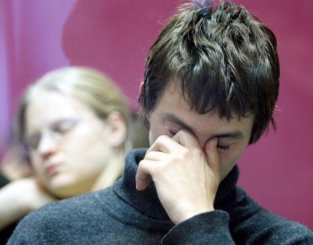 Na fot. prawdziwa lekcja języka angielskiego. Naciągacze twierdzą, że uczą bez wysiłku w 2 tygodnie.