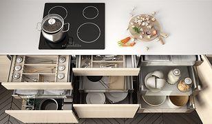 kuchnia szuflada gotowanie uporządkowana kuchnia