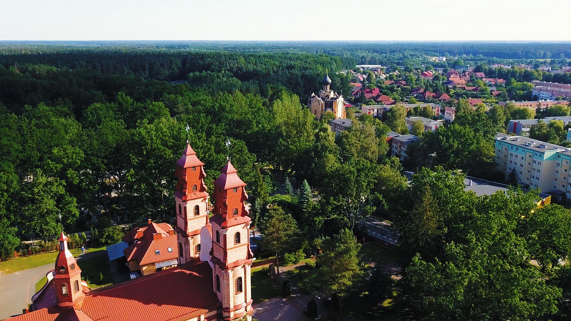Hajnówka leży na skraju Puszczy Białowieskiej. Mieszkańcy są dumni z różnorodności miasta