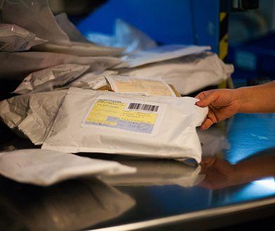Nietypowe przesyłki pocztowe we Wrocławiu. W środku znajdowały się kury