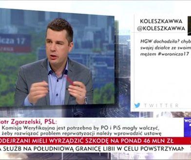 Pracownik TVP Info zwolniony. Zamieścił wulgarnego tweeta o Hannie Gronkiewicz-Waltz