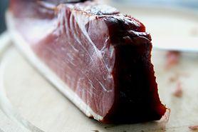 Gotowana peklowana szynka wieprzowa o niskiej zawartości sodu (mięso i tłuszcz)