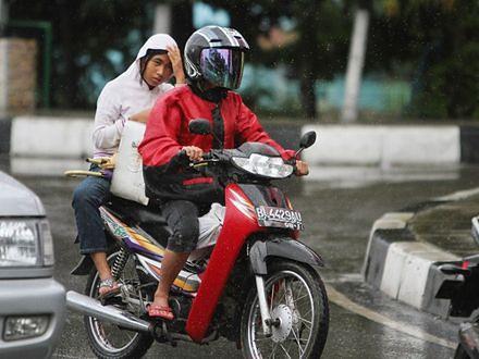 Kobiety na motorze tylko jak amazonki