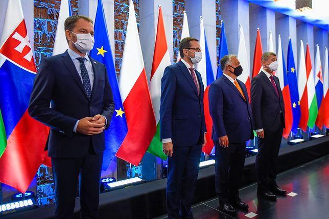 Spotkanie szefów rządów państw Grupy Wyszehradzkiej w 2020 roku