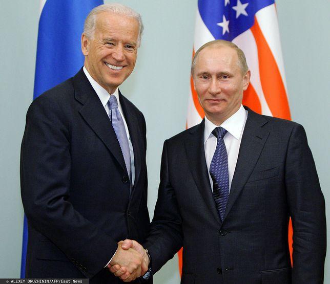 Joe Biden oraz Władimir Putin. W 2011 ówczesny wiceprezydent USA spotkał się z ówczesnym premierem Rosji