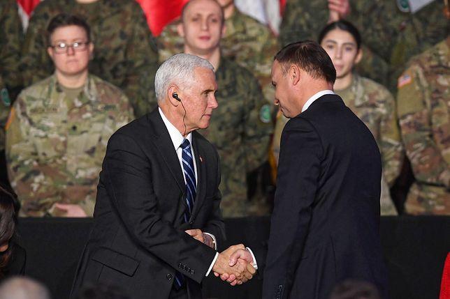 Politycy z Polski i USA zapewniają o przyjaźni. Problemów nie da się jednak ukryć