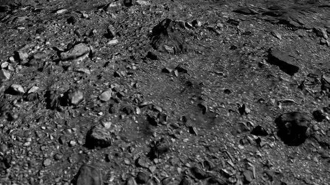Spektakularne zdjęcia asteroidy Bennu