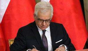 Minister Spraw Zagranicznych wprowadza swoje porządki. Wskazał nowych ambasadorów