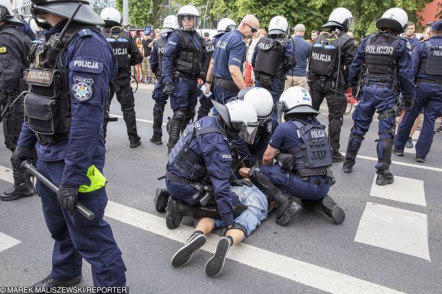 Marsz Równości w Białymstoku. Aresztowano mężczyznę podejrzanego o pobicie nastolatka