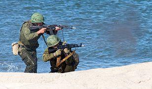 Rosyjska armia ćwiczy obronę plaż obwodu kaliningradzkiego