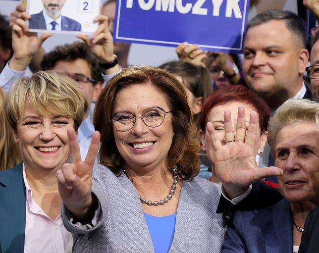 Wyniki wyborów 2019. Bezapelacyjną zwyciężczynią jest Małgorzata Kidawa-Błońska