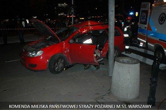 W Warszawie mniej wypadków, ale więcej rannych i zabitych