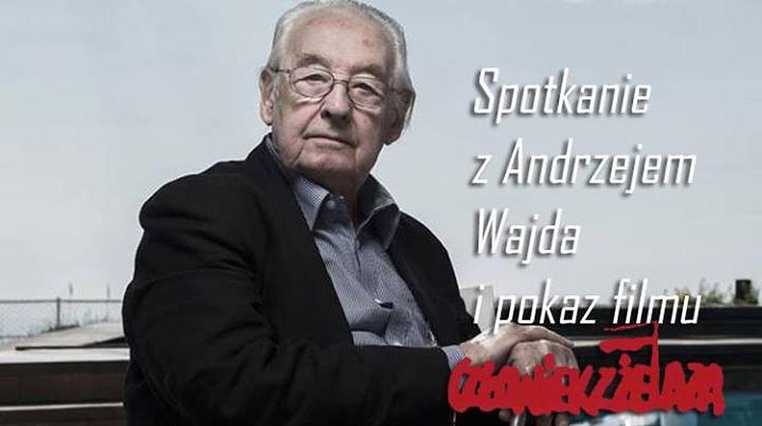 Za darmo: spotkanie z Andrzejem Wajdą + projekcja filmu