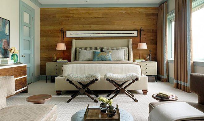 Ponadczasowe drewno na ścianie