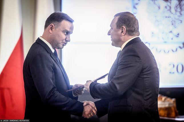 Andrzej Duda i Jacek Kurski
