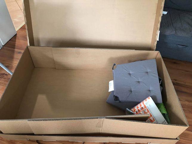 Kuriozalna przesyłka z Ikea. Wielki karton, a w nim parę drobiazgów