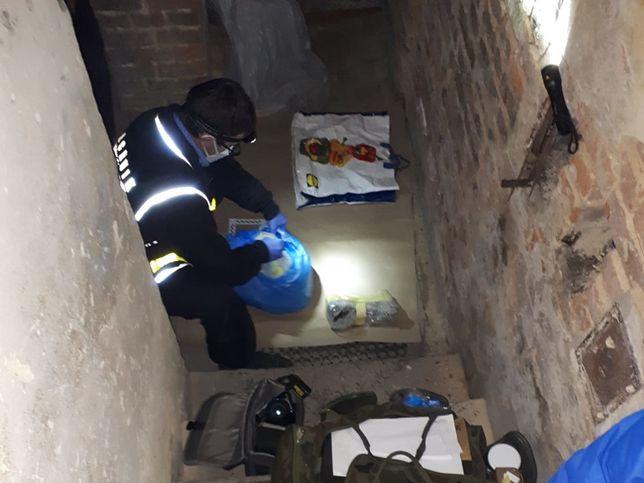 Warszawa. W mieszkaniu podejrzanego znaleziono ludzkie kości