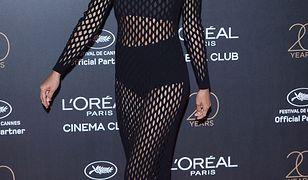 Seksowna koronka Iriny Shayk. Modelka jest najjaśniejszą gwiazdą festiwalu w Cannes