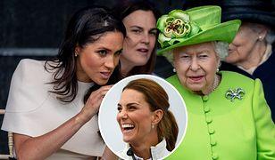 Meghan Markle wciąż nie ma tytułu, którym królowa uhonorowała Kate
