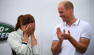 Kate Middleton i książę William nie mogli powstrzymać śmiechu