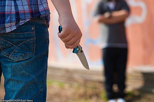 7-latek przyniósł do szkoły nóż. Groził równieśnikowi