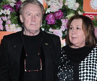 Krystyna Demska-Olbrychska i Daniel Olbrychski