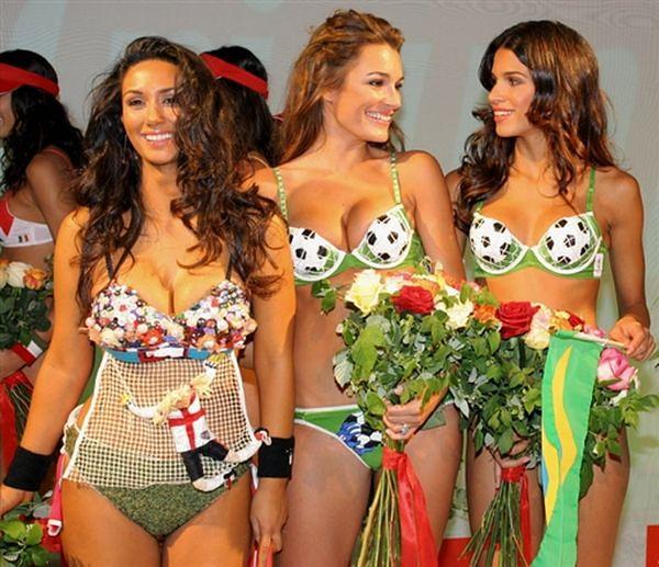 Piekne kobiety piłkarzy
