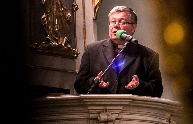 Usnarz Górny. Ks. Alfred Wierzbicki o sytuacji na granicy polsko-białoruskiej