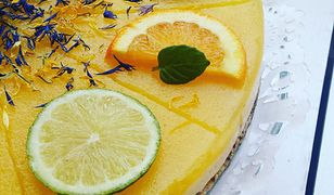 Sernik z kaszy jaglanej z mango. Słodki deser bez grama cukru