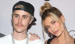 Justin Bieber z  żoną Hailey Baldwin