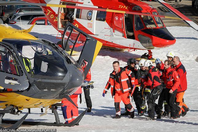 6-letnia dziewczynka została przetransportowana do szpitala
