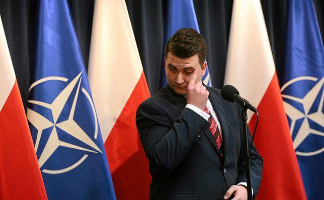 Tylko w WP. Misiewicz nie odpuszcza internaucie. Wiemy, co planuje