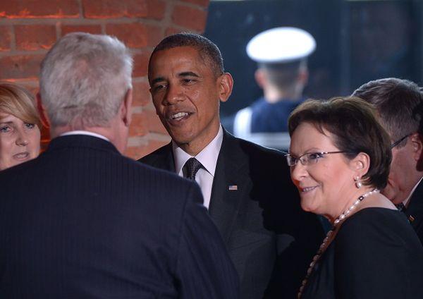 Moskwa krytykuje wizytę Obamy w Warszawie