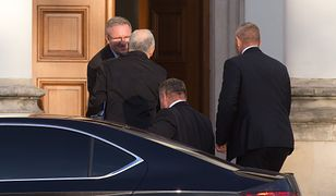 Jarosław Kaczyński kilka razy przyjechał do Belwederu