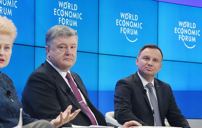 Głos w sprawie nowelizacji ustawy o IPN zabrał też Petro Poroszenko