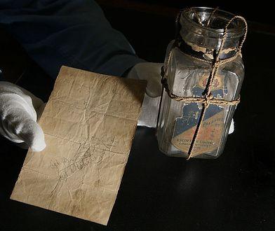 Butelka z listem - zdjęcie poglądowe