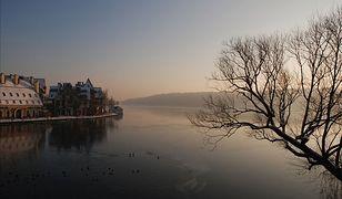 Jezioro Mikołajskie wygląda pieknie o każdej porze roku