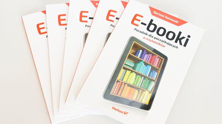 """""""E-booki"""": ostatnia papierowa książka jaką przeczytasz. Konkurs!"""