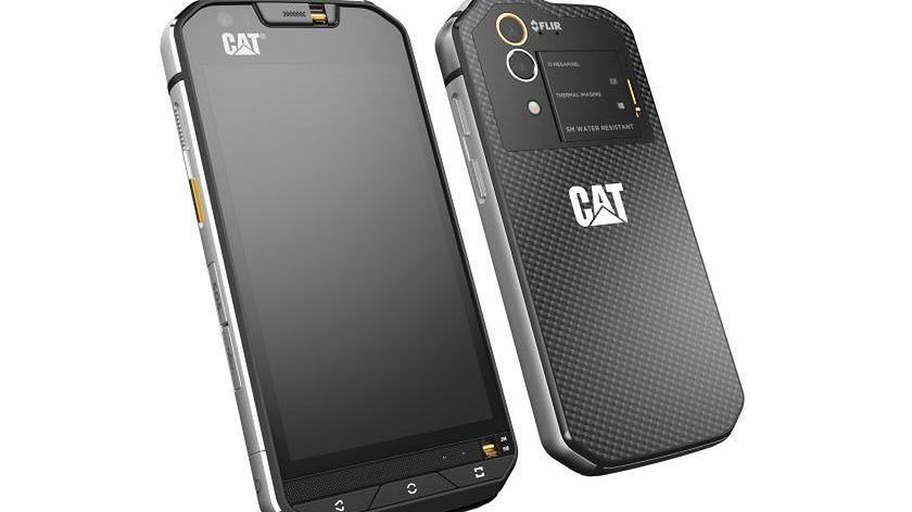 Cat S60 pierwszym na świecie smartfonem z wbudowaną kamerą termowizyjną #prasówka