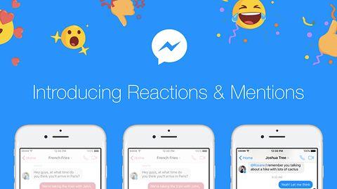 Reakcje w Messengerze już są! W końcu na Facebooku mamy łapkę w dół