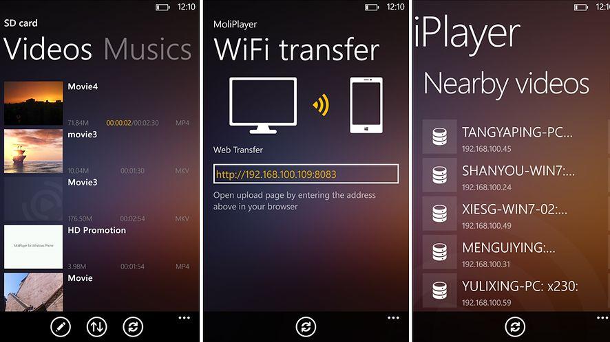 MoliPlayer Pro - idealny odtwarzacz multimediów na Windows Phone