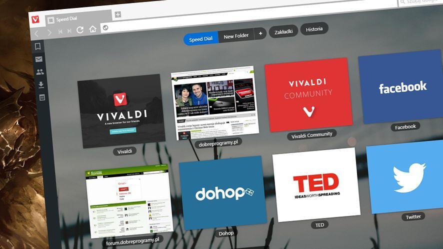 Vivaldi coraz lepszy: nowa wersja obsługuje rozszerzenia z Chrome Web Store
