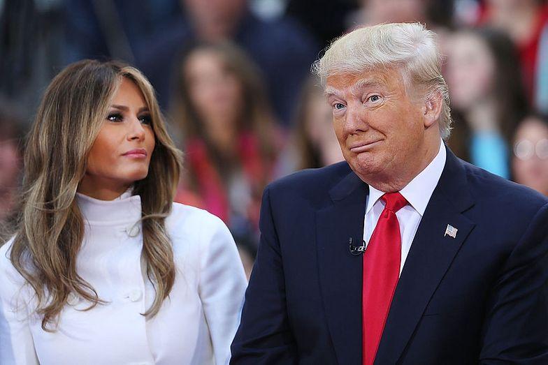 Donald Trump z coraz mniejszym poparciem. Co na to Melania?
