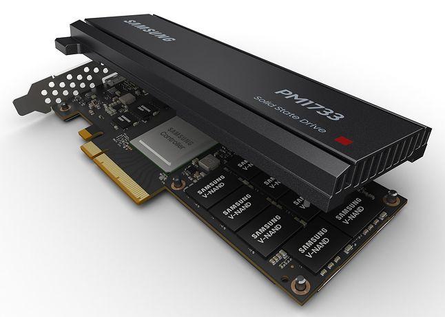 A także jako karta rozszerzeń PCI-Express (fot. Materiały prasowe Sasmsung)