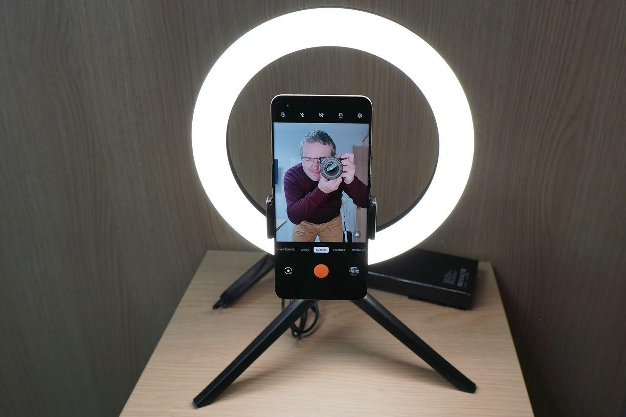Natec ALFAMA Ring Light - tanie doświetlenie kamery i smartfona