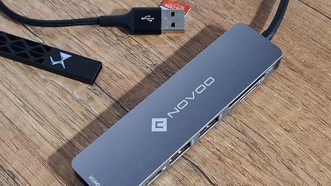 Krótki test HUB USB-C Novoo 6 w 1: Jak szwajcarski scyzoryk